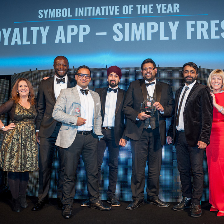 Retail Industry Awards 2016 - SimplyFresh win Symbol initiative of the Year