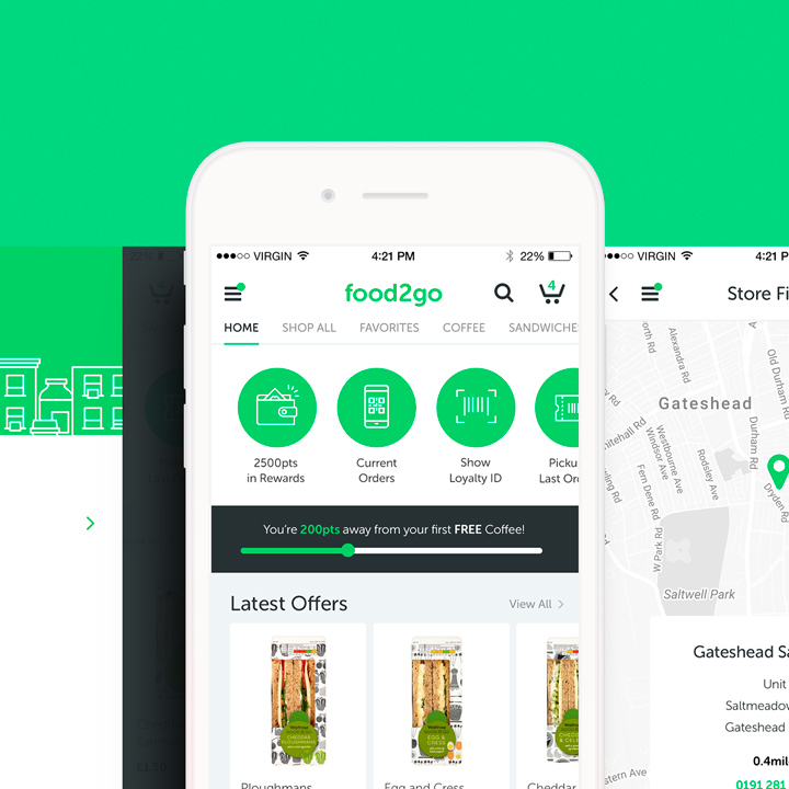 Case Study- Food2Go Ecommerce & Mobile Ordering Platform